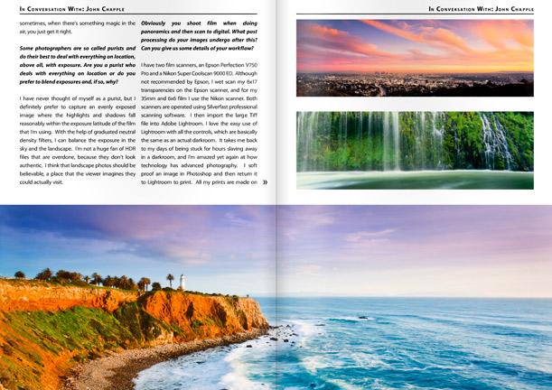 Landscape Photography Magazine pages 50,51