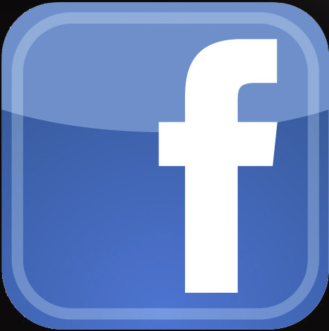 Facebook button for newsletter page