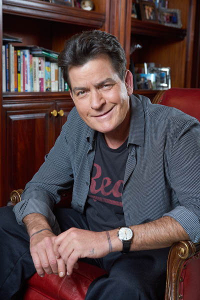 2015 in pictures. December 17, 2015. Los Angeles, California.  Actor Charlie Sheen, pictured at the home of movie producer, Mark Berg.  Photo Copyright John Chapple / www.JohnChapple.com /