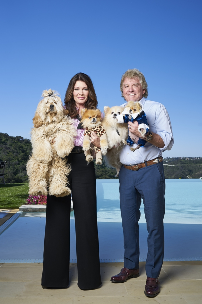 2016 In Pictures - Real Housewives of Beverly Hills, Lisa Vanderpump with her husband Ken.