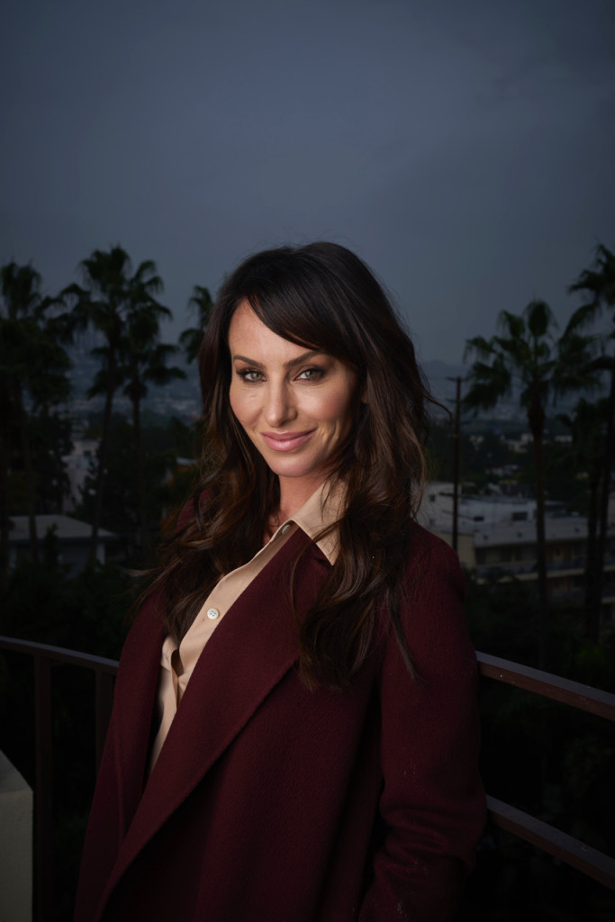 """January 8, 2018. Beverly Hills, California. 'Poker Princess' Molly Bloom, who Jessica Chastain plays in the new Aaron Sorkin movie based on her life, """"Molly's Game,"""" Photo Copyright John Chapple / www.JohnChapple.com"""