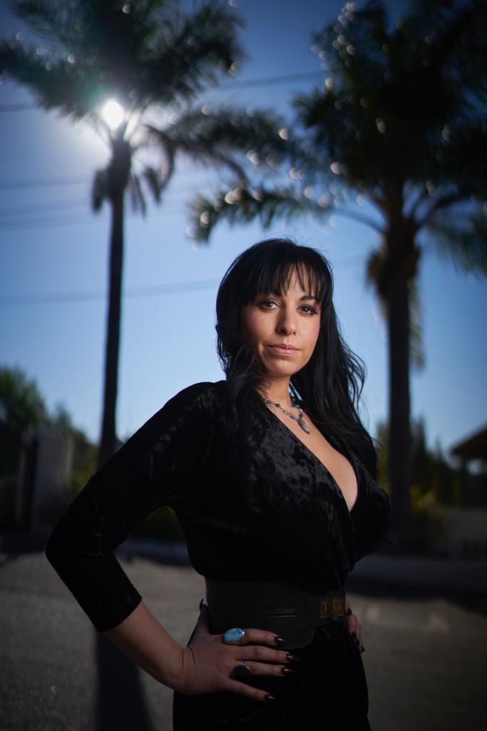 February 10, 2018. Studio City, California. Celebrity exorcist Rachel Stavis at her home. Photo Copyright John Chapple / www.JohnChapple.com