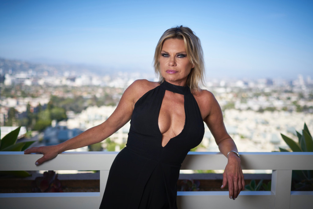 April 25, 2018. Los Angeles, California. Playboy Playmate Elke Jeinsen who was allegedly in the same room when fellow Playmate Barbara Moore had sex with Donald Trump. Photo Copyright John Chapple / www.JohnChapple.com