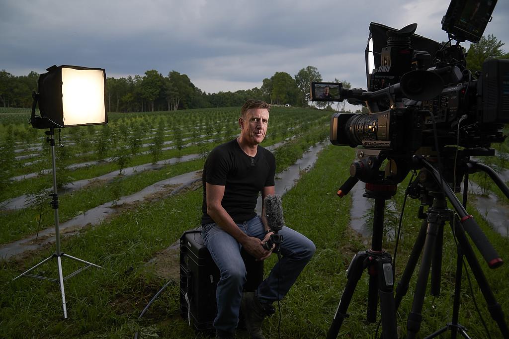 July, 2019. Plainfield, Vermont. Mont Kush hemp farm. Photo copyright John Chapple / www.JohnChapple.com